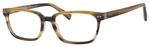 Ernest Hemingway H4803 Unisex Rectangular Frame Eyeglasses Birch 55 mm Custom Lens