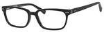Ernest Hemingway H4803 Unisex Rectangular Frame Eyeglasses Black 55 mm Custom Lens