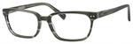 Ernest Hemingway H4803 Unisex Rectangular Frame Eyeglasses Stone 55 mm Custom Lens
