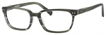 Ernest Hemingway H4803 Unisex Rectangular Frame Eyeglasses Stone 55 mm