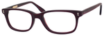Ernest Hemingway H4617 Unisex Rectangular Frame Eyeglasses Matte Burgundy/Red 48 mm Bi-Focal