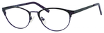Ernest Hemingway H4821 Ladies Cat Eye Frame Eyeglasses in Eggplant 52 mm