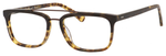 Ernest Hemingway H4825 Unisex Rectangular Frame Eyeglasses in Olive/Amber 54 mm Bi-Focal