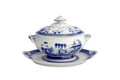 Mottahedeh Blue Canton Oval Soup tureen and Stand HC89