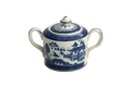 Mottahedeh Blue Canton Sugar Bowl HC109
