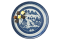Mottahedeh Blue Canton Cake Plate HC157