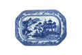 Mottahedeh Blue Canton Cookie Plate HC120