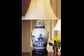 Mottahedeh Blue Canton Ginger Jar Lamp HC132L