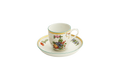 Mottahedeh Duke of Glouster Demitasse Cup and Saucer CW1495