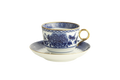Mottahedeh Imperial Blue Cup and Saucer CW2404