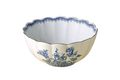 Mottahedeh Imperial Blue Scalloped Bowl CW2418