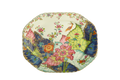 Mottahedeh Tobacco Leaf Oval Platter 15 in Y2341A