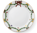 Royal Copenhagen Star Fluted Christmas Dinner Plate 10.75 in 1017457