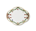 Royal Copenhagen Star Fluted Christmas Accent Dish 8.5 in 1017441