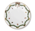 Royal Copenhagen Star Fluted Christmas Cake Plate 12.5 in 1017442