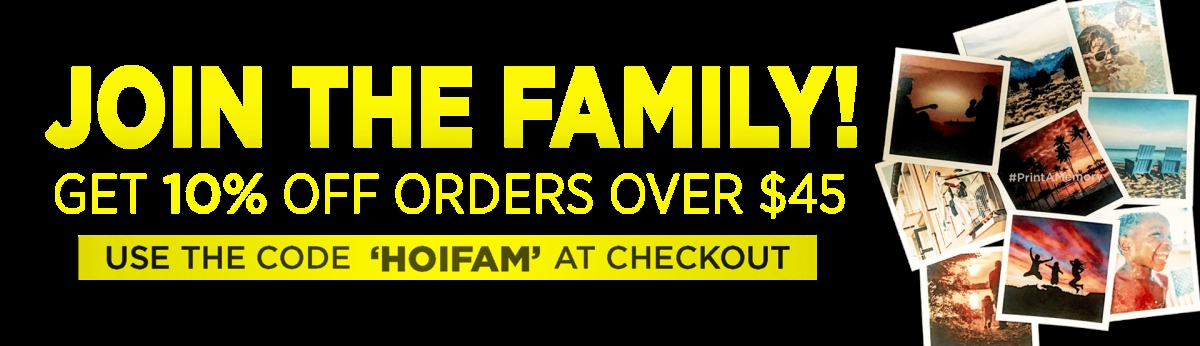 Join The Family - Get 10% OFF Orders Over $45