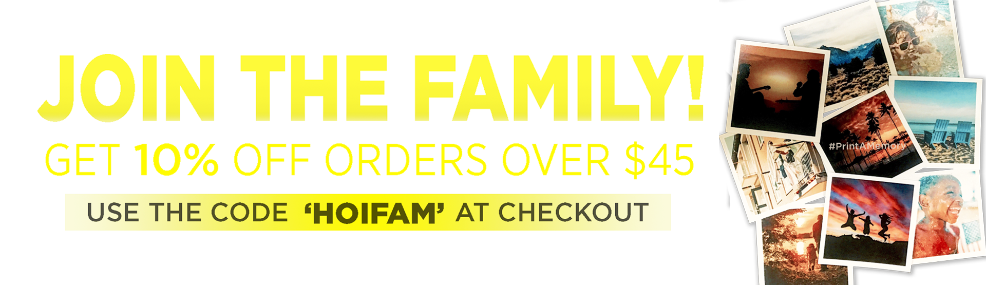 Join The Family...!