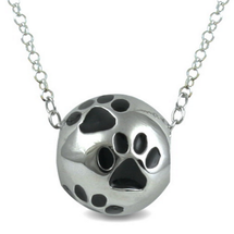 Paws - Love From Your Pet *** fits the original Pandora bracelet***- sterling silver