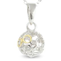 Eternity - Eternal Friendship (cute size) - sterling silver pendant