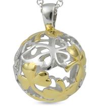 Shamrock - For Good Fortune - sterling silver pendant