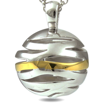 Making Waves - sterling silver necklace