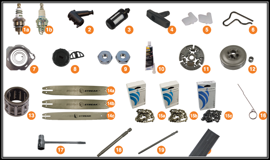 Stihl Replacement Parts Stihl Chainsaw Parts Online Hl