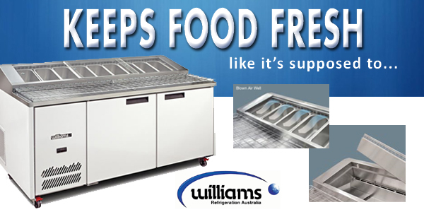 Williams Pizza Fridge / Pizza Prep Fridge