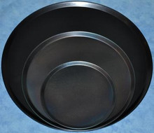Black Steel Pizza Tray 12 inch
