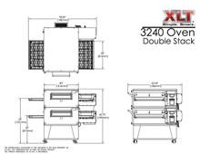 XLT 3240-2 Double Stack Conveyor Pizza Oven Aussie Pizza Supplies