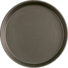 Black Steel Deep Pan 15 inch