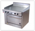 Goldstein Griddle Gas Range PF-36G-28