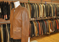 Ladies Leather Jacket Tan