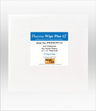 "Pharma-Wipe™ Plus  12"" x 12"" (sterile) PWP5S797-12"