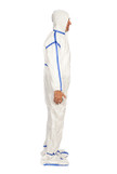 TrueCare Coveralls, w/Hood & Boots, PE/PP Laminated, Sterile  TCBACV54ST-3XL