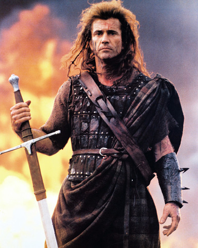 BRAVEHEART MEL GIBSON CLASSIC MOVIE POSTER PICTURE PRINT Sizes A5 to A0 **NEW**