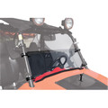 RZR XP 900 LE (2012) Tusk +2-inch Hinged Windshield