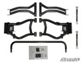 RZR S/RZR 4 800 SuperATV Rear High Clearence Rear Offset A-Arms