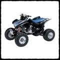 Honda TRX 450 R Barkers Full Exhaust System 06-12