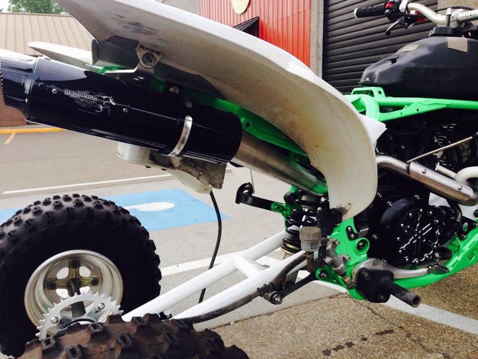 Yamaha YFZ 450 Barkers Full Exhaust System