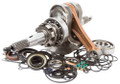 Rhino 660 Hot Rods OEM Complete Bottom End Kit