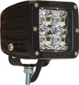 RIGID DUALLY 2X2 LED LIGHTS DIFFUSED WHITE (PAIR)