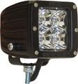 RIGID DUALLY 2X2 LED LIGHTS DIFFUSED WHITE (PAIR)