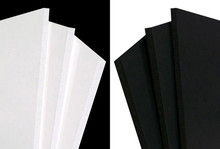 A0 – 5mm White/Black Foamboard
