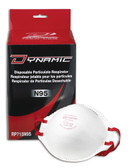 Standard N95 Disposable Particulate Respirators without Valve - 20 Pkg - Dynamic - RP713N95