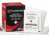 "Dynamic Gauze Pad 2"" x 2"" sterile - Box of 100"