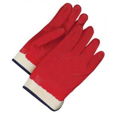 Fleece-Lined PVC/NBR Coated Safety Glove -BDG Gloves 99-1-830