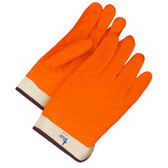 Hi-Viz PVC/NBR Coated Gloves Orange (12PK)
