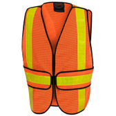 Hi-Vis All-Purpose Safety Vest - Adjustable - Pioneer - 592A