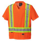 Hi-Vis Mesh Safety T-Shirt - CSA, Class 2 - Pioneer Startech 5994 Orange