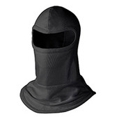 NOMEX® III A MEDIUM-KNIT BALACLAVA - 4-PC CAPE/HOOD - PREMIUM BLACK